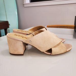 Sam Edelman suede sz10 sandals
